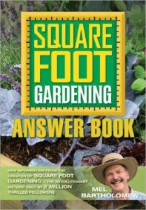 square foot gardening answer book, book review, how to square foot garden, answers to questions about square foot gardening